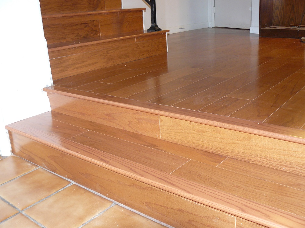 Allure Vinyl Plank Flooring Installation On Stairs Floor